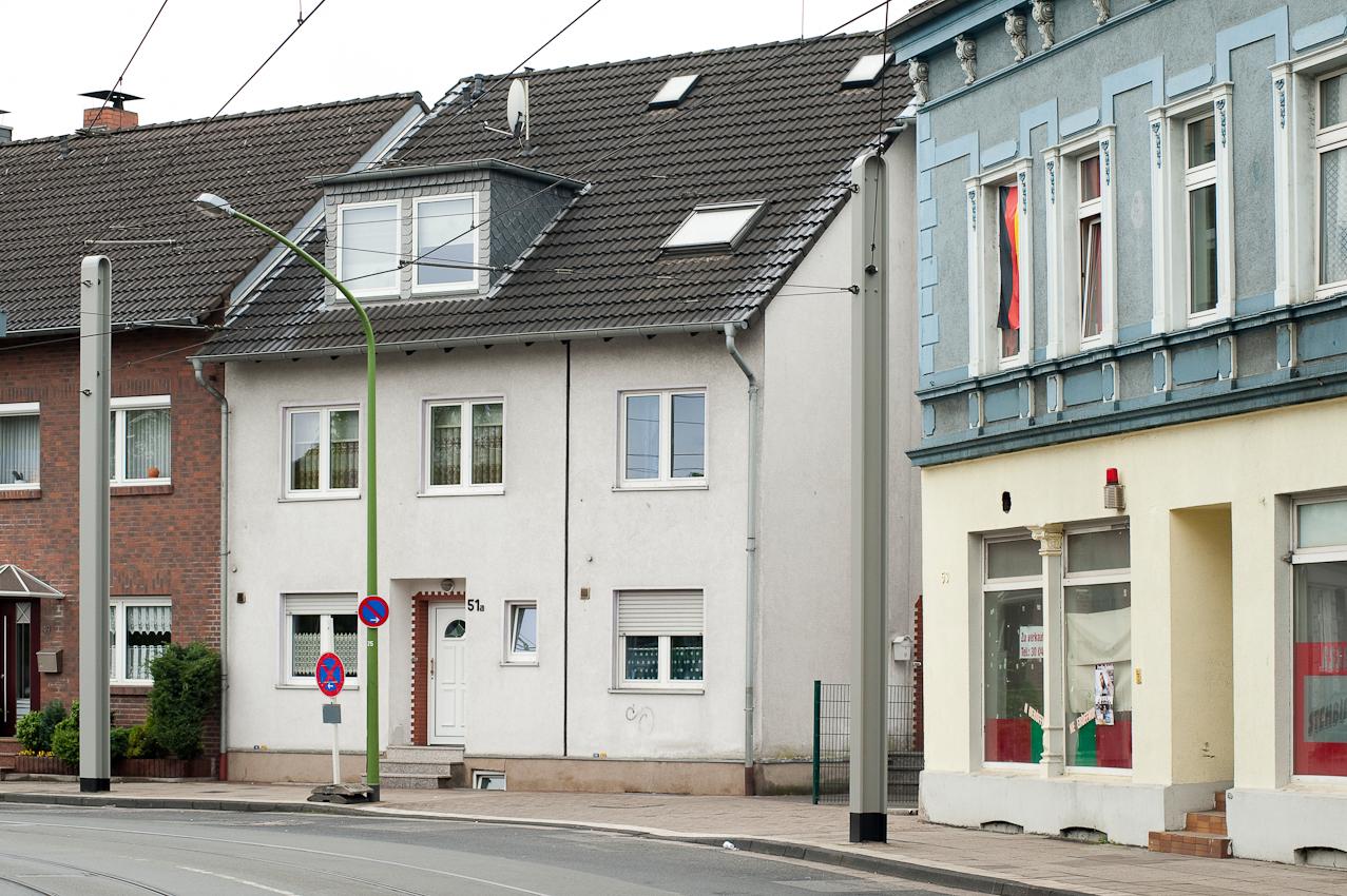 Häuser am Katernberger Markt